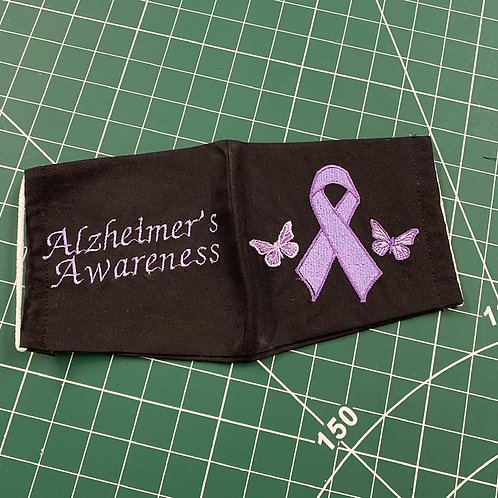 Alzheimer's Awareness Face Mask