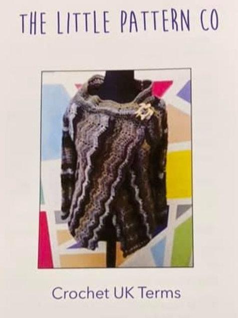 Crochet Pattern for Ripple Cardigan