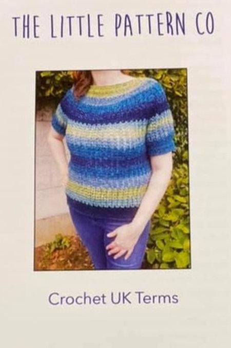 Crochet Pattern Short Sleeved Jumper
