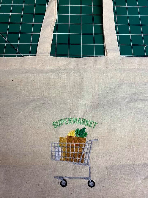 Shopping Bag - Embroidered
