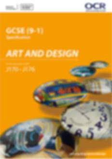 GCSE Art and Design spec-01 Thumbnail x2