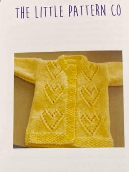 Knitting Pattern 3m - 2 years