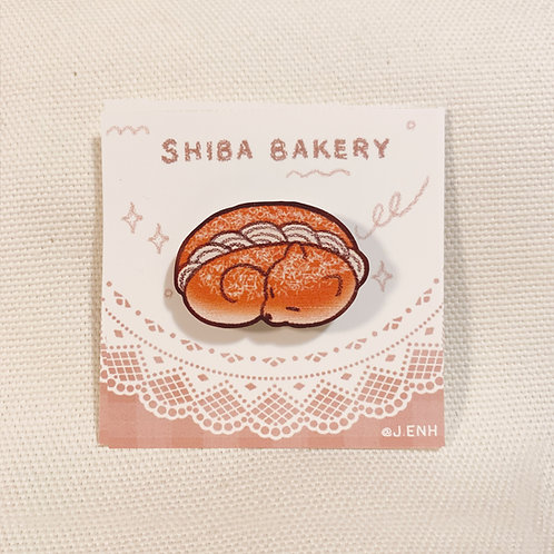 coconut cream bun wooden pin