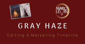 Gray Haze: Editing and Marketing Timeline
