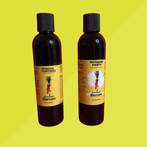 Moisturizing Shampoo and Hydration Conditioner Set