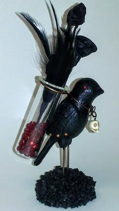 Spooky Bird/Flowers