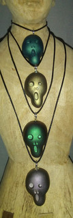Scream Pendants