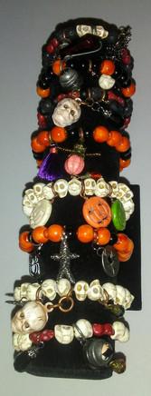 Spooky Stretchy Bracelets