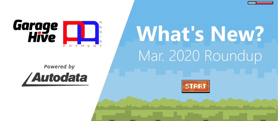 Features to help with the COVID-19 crisis - What's New in Garage Hive - March '20 Roundup 📺