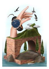 IWC - 'Portofino' illustration