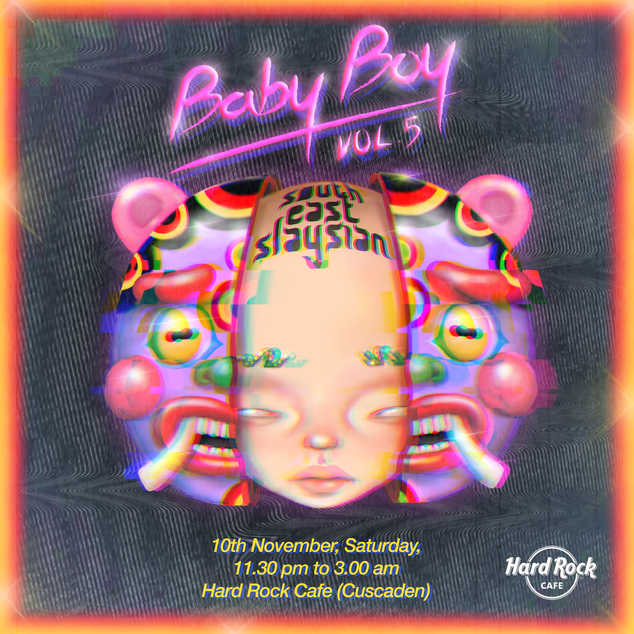 Babyboy Vol.5 event poster