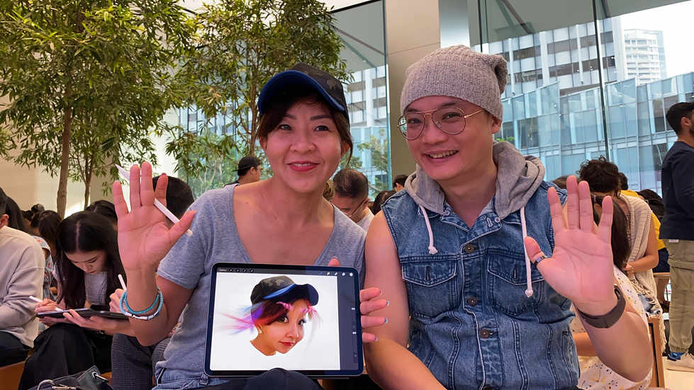 Today At Apple - Surreal Selfies with Howie Kim