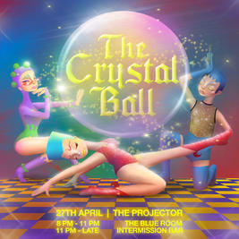 The Crystal Ball event poster
