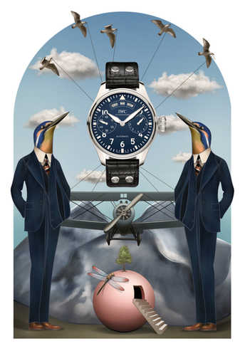 IWC - 'Pilot' illustration