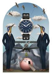 IWC - 'Pilot' illustration
