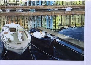 Bosa Sardinia harbour