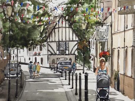 Castle Street Warwick
