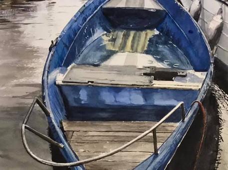 Old Bosa Boat