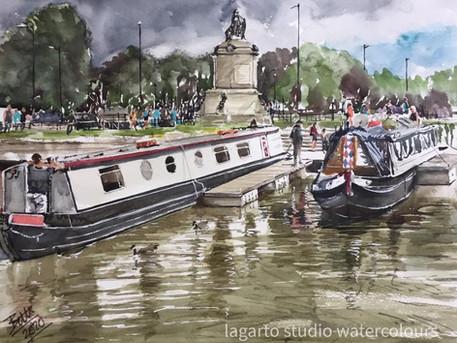 Stratford Canal Boats