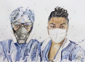 Drs Qasim and Maria