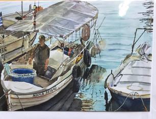 Fishermanin Chania