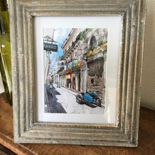 Havana 1 framed print