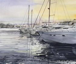 Denia Harbour, Spain