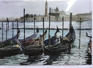 Venice 2 Gondolas