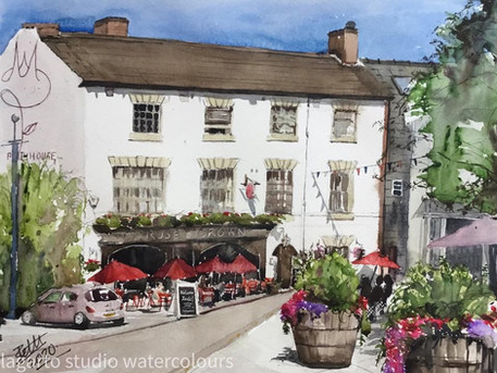 Rose & Crown Pub, Warwick