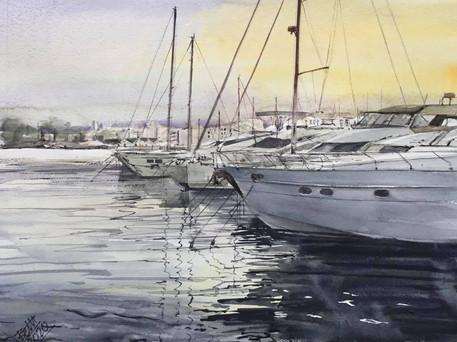 Dénia harbour Spain