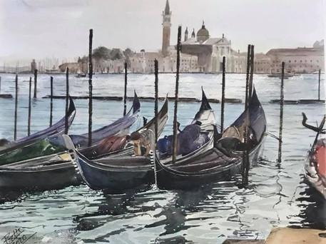 Venive 2 Gondolas