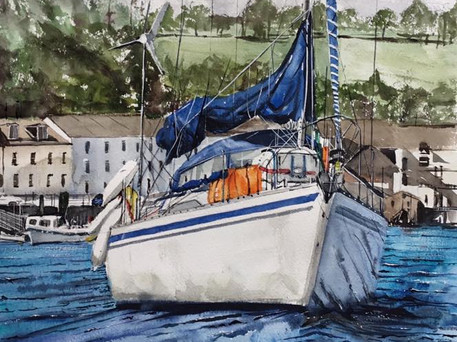 Original watercolour Mounted 594x420 inches £300  Giclee print available £85 plus p&p