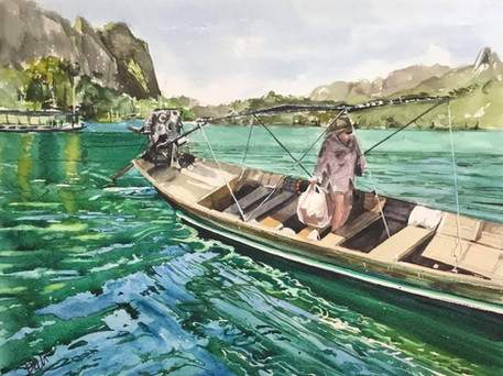 The waters of Thailand