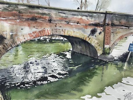 Clopton Bridge Reflections Stratford Upon Avon