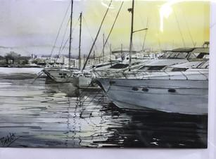 Dénia harbour, Spain