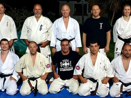Austausch mit der Kyokushinkai-Gruppe des Salento (I)