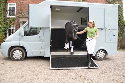 3.5 tonne horsebox for Self Drive Hire Shrewsbury, Shropshire