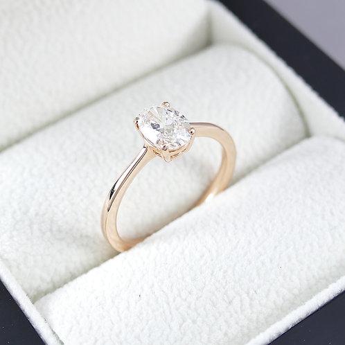 Diamant-Solitärring 0,70 ct