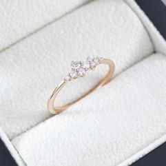 R11896DI.18R 8 Verlobungsring Diamant in