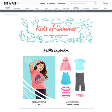 Sears Kids of Summer