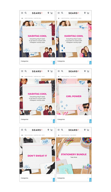 Marketing Banners for Mobile