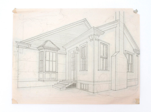 House study preliminary sketch