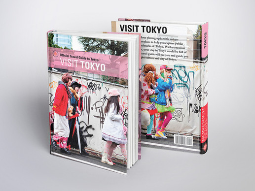 Travel Guide Book mock-up