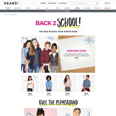 Sears Back 2 School