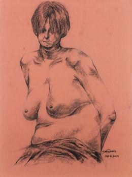 Life drawing: woman