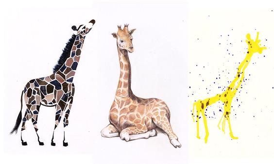 Giraffe study pt.2