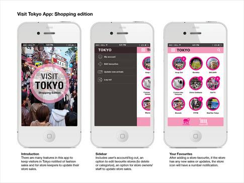 Mobile App mock-up 1