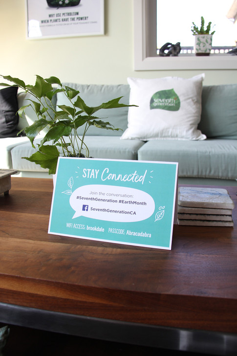 SVG event: tent card