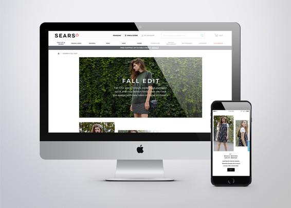 Sears Womens Fall Edit