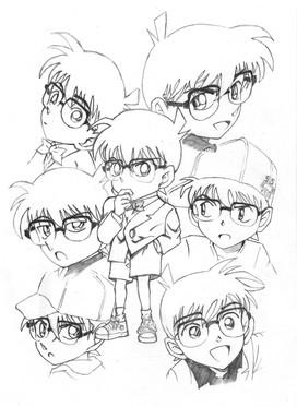 Fan art: Detective Conan